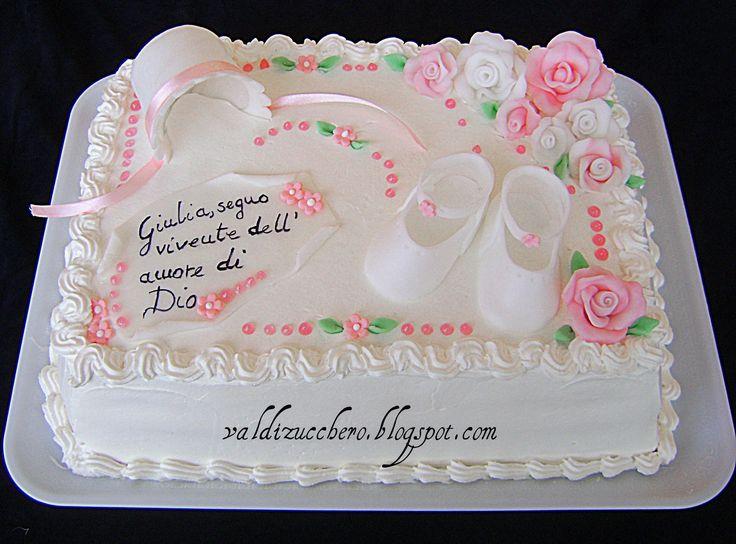 Dalila Cake Design Ricette : torta bimba Bianca - Cerca con Google torte battesimo ...