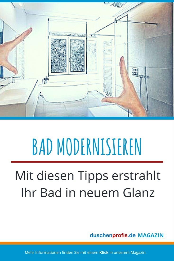 Bad modernisieren Ideen für Ihre Badmodernisierung