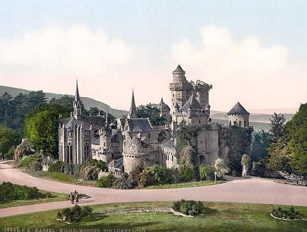 The Lower Castle, Wilhelmshohe, Cassel i.e., Kassel, Hesse-Nassau, Germany