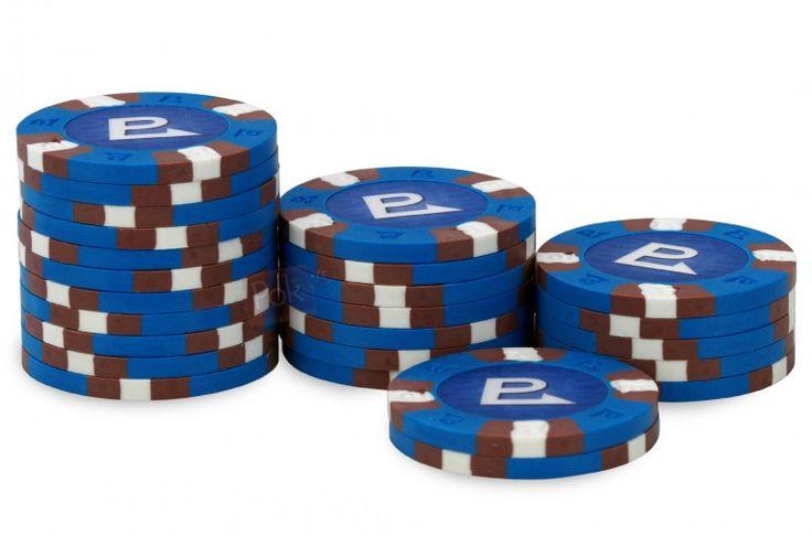 Rouleau de 25 jetons Nexgen Pro Classic no value - Pokeo.fr - Rouleau de 25 jetons poker 100% clay (9,5g) Nexgen Pro Classic bleu sans valeur.