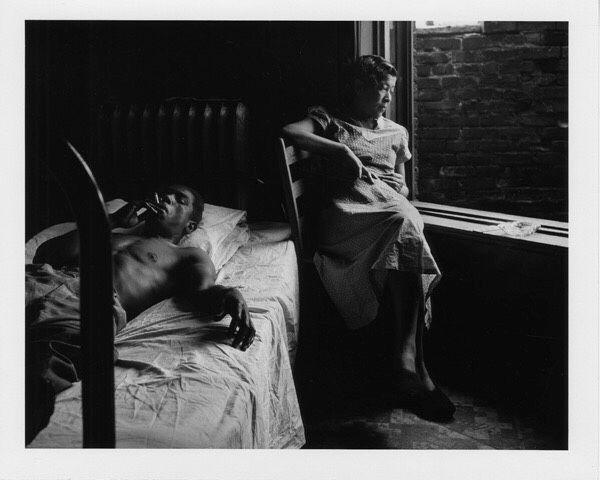 Gordon Parks Tenement Dwellers, Fort Scott, Kansas 1949 - gelatin silver print