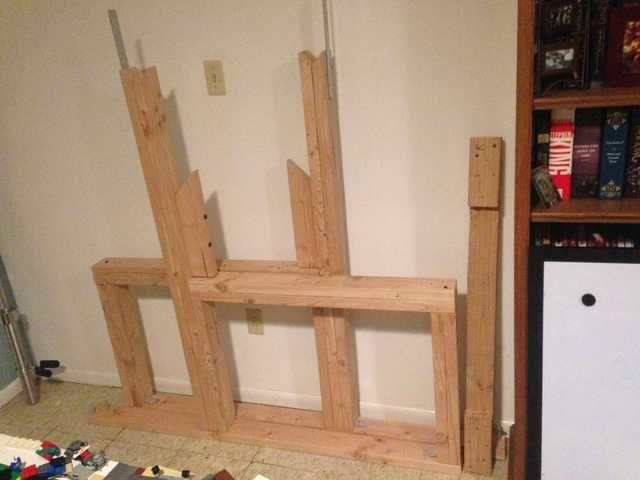 Diy Squat Rack And Bench Press Diy Wood Bench Bench Press