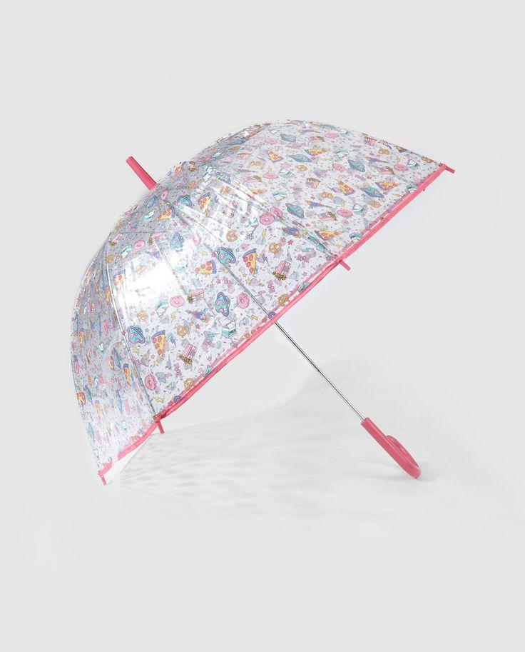 Paraguas de niña Accesorios Collection transparente
