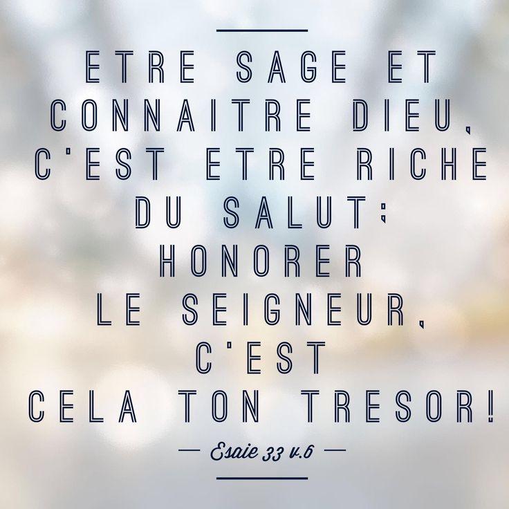 Ésaïe 33: 6