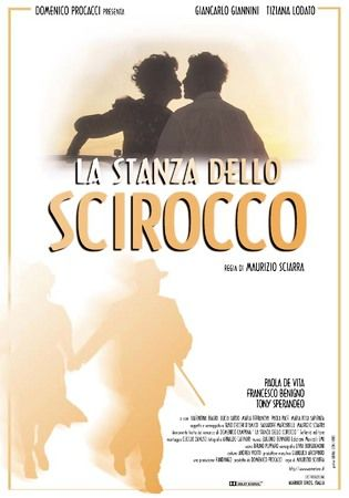 La stanza dello scirocco, film poster, with Giancarlo Giannini and Tiziana Lodato.