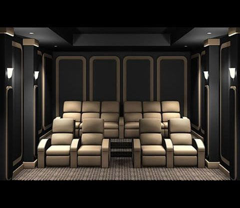 Best 25 home theatre seating ideas on pinterest for Home theater seating design ideas