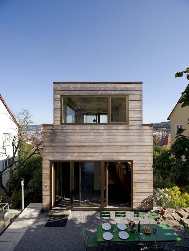 25 best ideas about modern home exteriors on pinterest for Fertigteilhaus container
