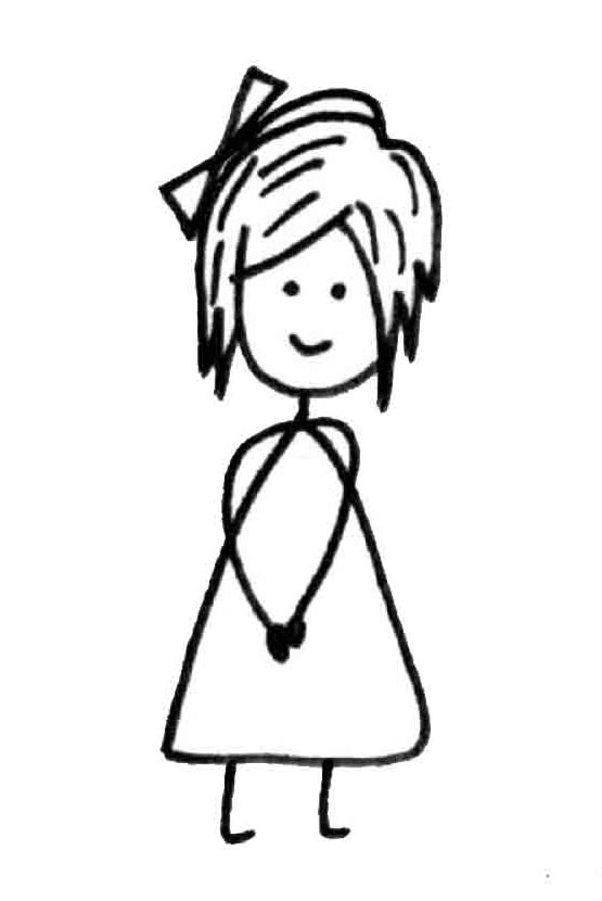 cute stick figure girl by viratsaluja deviantart com on  deviantart