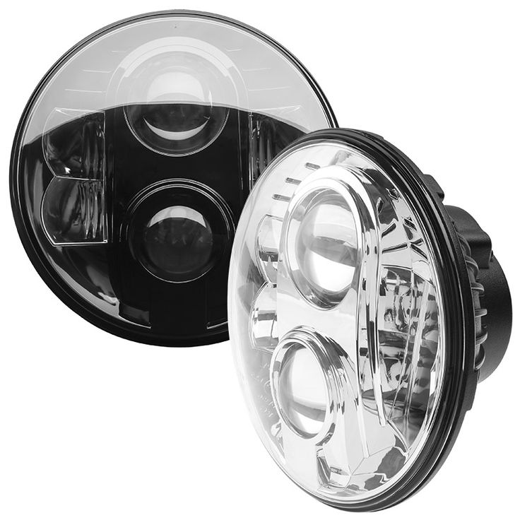 "7"" Round H6024 DOT Approved LED Sealed-Beam Headlights Conversion 