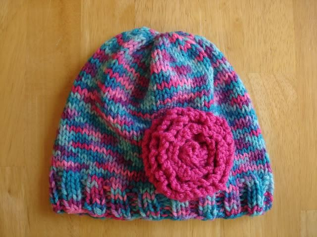 Free Knitting Pattern! Cotton Candy Hat