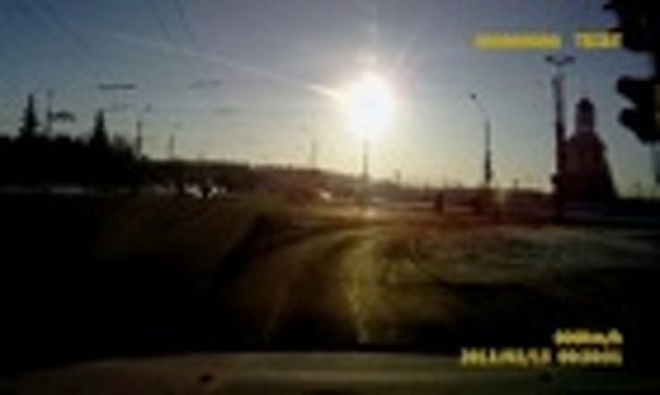 11/07/2013 - Scientists reveal the full power of the Chelyabinsk meteor explosion - at its most intense, meteor fireball glowed 30 times brighter than the sun causing skin and retinal burns, say researchers