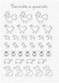 Dibujos con cuadricula para preescolar buscar con google - Cenefas para dibujar ...