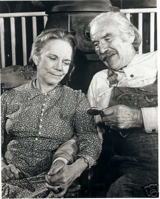 Will Geer & Ellen Corby On the Waltons