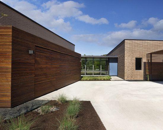 Design Decorating Modern Exterior At Hidden Wood Garage