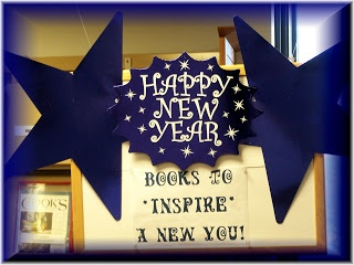 Barrington Public Library's January Book Displays