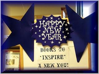 Barrington Public Library's January Book Displays