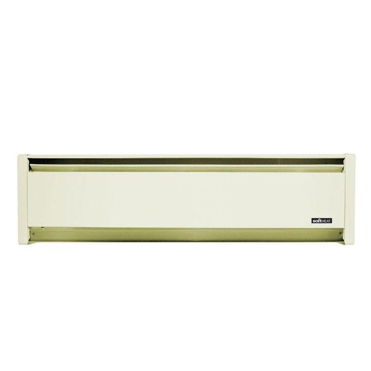 Cadet EBHN500-RH 35 Inch Wide 1710 BTU 208/240 Volt 500 Watt Self-Contained Hydr White Sand Heaters Baseboard Heater