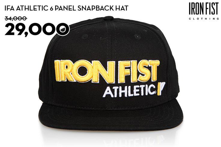 IFA ATHLETIC SNAPBACK HAT (BLACK) / 34,000원 → 29,000원 http://www.ironfist.co.kr/shop/goods/goods_view_athletic.php?goodsno=435  #ironfist #아이언피스트 #athletic #운동 #건강 #피트니스 #스포츠 #모자 #스냅백
