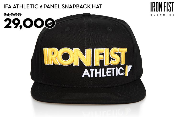 IFA ATHLETIC SNAPBACK HAT (BLACK) / 34,000원 → 29,000원 http://www.ironfist.co.kr/shop/goods/goods_view_athletic.php?goodsno=435  #ironfist #아이언피스트 #athletic #운동 #건강 #피트니스 #스포츠 #모자 #스냅백