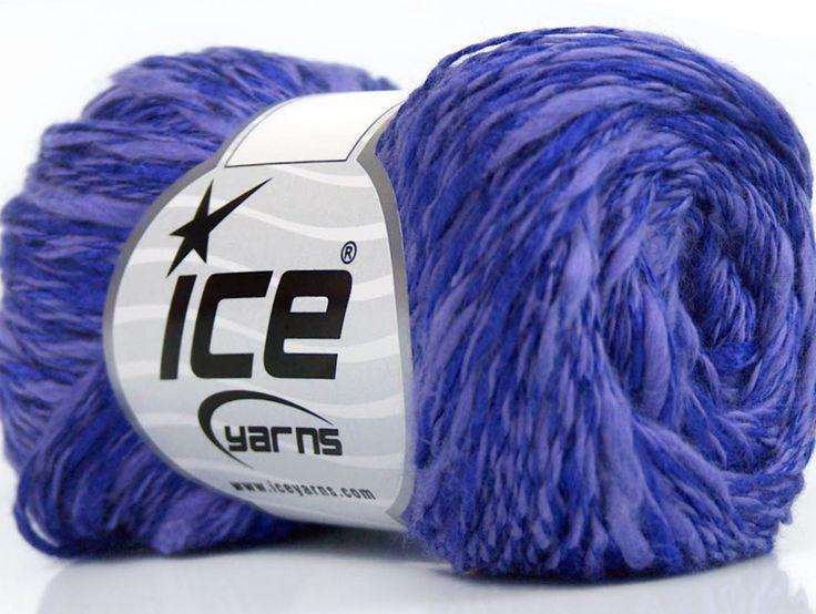 Fiber Content 60% Cotton 40% Viscose Purple Lilac Brand ICE fnt2-41428