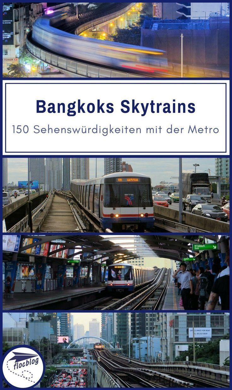 150 Sehenswurdigkeiten Mit Bangkoks Skytrain Metronetz Karte