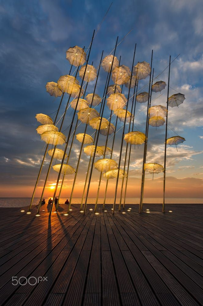 The Umbrellas, Thessaloniki, Greece