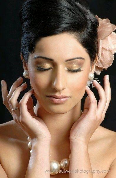 Bridal makeup done by 'mua'