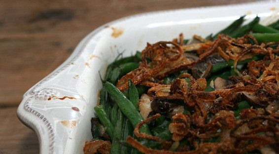 Homemade Green Bean Casserol is simply delish - much better than the canned soup version.