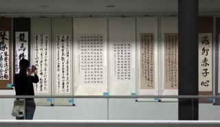 Exposición de caligrafía china, más que escritura, un arte | Portal de Prensa: Ayuntamiento de Alcobendas