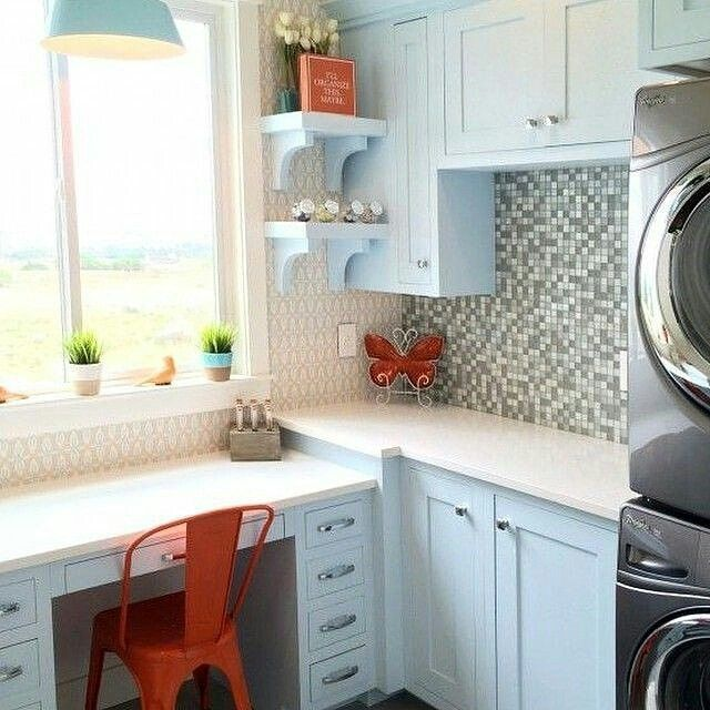 Utah Valley Parade of Homes - Office/Laundry Room combo