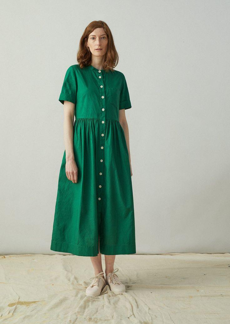 Cotton oxford shirt dress toast shirt dress womens