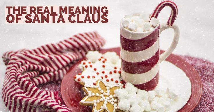 The real meaning of Santa Claus. I was 14 & I still believed in Santa Claus. One day, I started to think about what it meant to give. What Santa really represented.