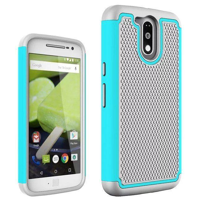 >> Click to Buy << For fundas Motorola Moto G 4 Plus Case ball grain Cover Hybrid Dual layer Duty Shockproof shell for Moto G4 plus cover case #Affiliate