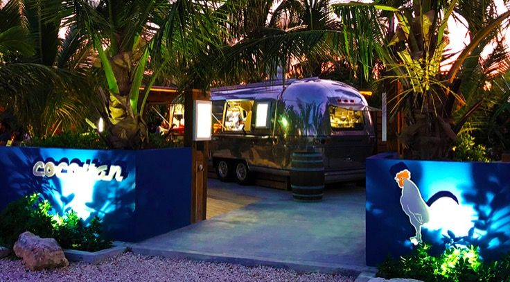 Turks and Caicos' Cocovan Is the Caribbean's Coolest New Restaurant  It's the kind of place that would be at home in some hip enclave of Austin or Portland, Williamsburg or L.A.  But at the same time, it's totally at home in the Caribbean.  That's not easy to pull off.  But that's what the team at the wonderfully named and even better executed Cocovan have done.....  #restaurant #van #cocovan #turksandcaicos #caribbean