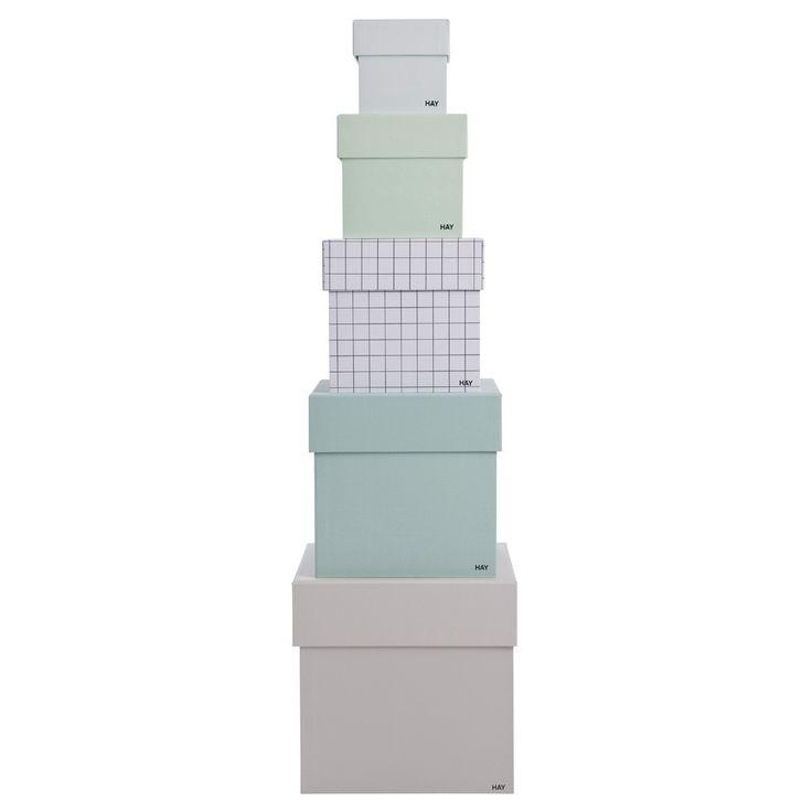 Hay oppbevaringsbokser Box Box Male 5stk