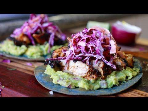 15 Minute Dinner Series - Chicken Tostadas - YouTube