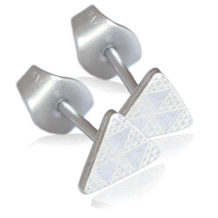pintaderas stainless steel, mens earrings steel