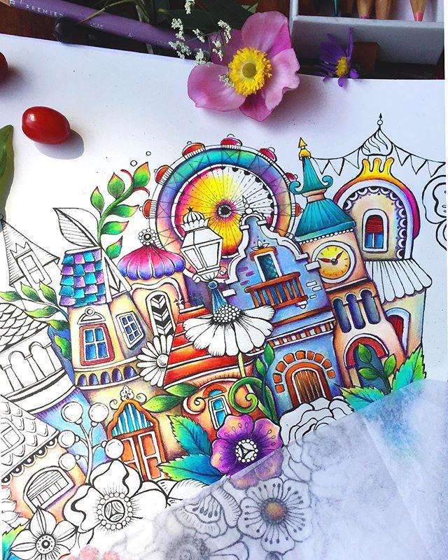 Rita Berman Rita Berman Instagram Photos And Videos Coloring Book Art Coloring Books Color Pencil Art