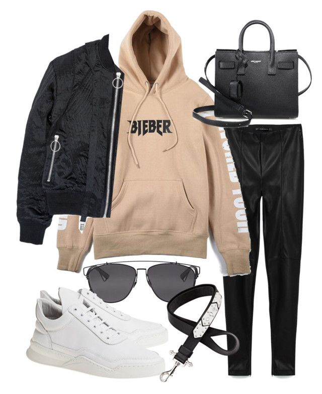 """Untitled #20561"" by florencia95 ❤ liked on Polyvore featuring Justin Bieber, Christian Dior, Nicopanda, Yves Saint Laurent, Filling Pieces and Givenchy"