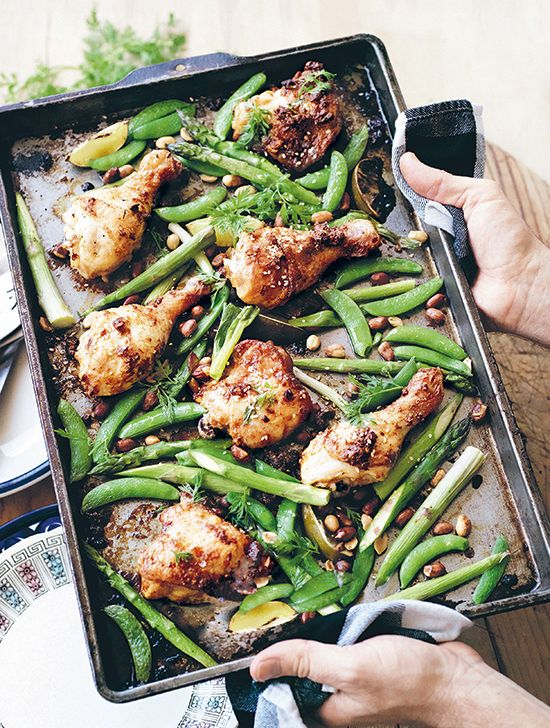 You'll love this healthy (and simple) one-pan meal from Sarah Wilson's The I Quit Sugar Cookbook.