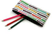Train pencil case, boy pencil case, pouch ideal for stationary, gadgets, sunglasses, multi coloured train, back to school