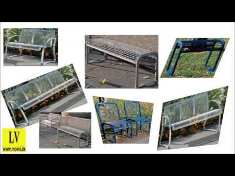 Videos Schulmöbel, Parkbänke kaufen, Holzbänke kaufen