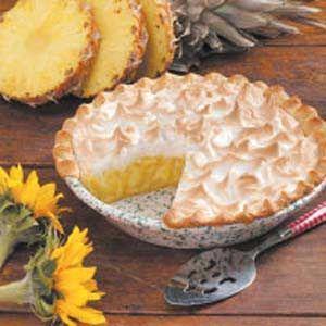 Pineapple Meringue Pie Recipe (I've been baking this since 2006- VERY good!)