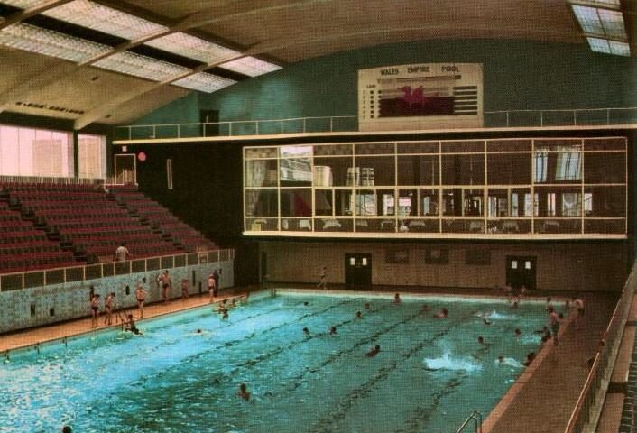 Empire pool old cardiff in 2019 cardiff clifton - University of bristol swimming pool ...