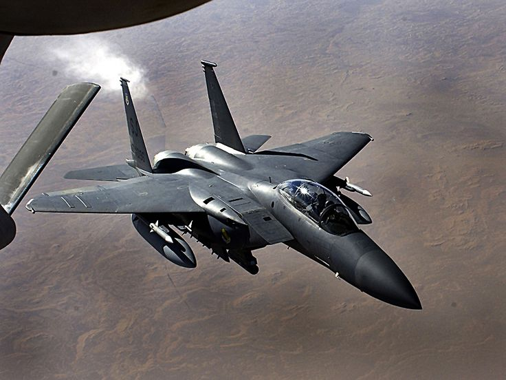 Over 100 kills. Zero losses. Undisputed king of the skies. F-15. Bad ass!