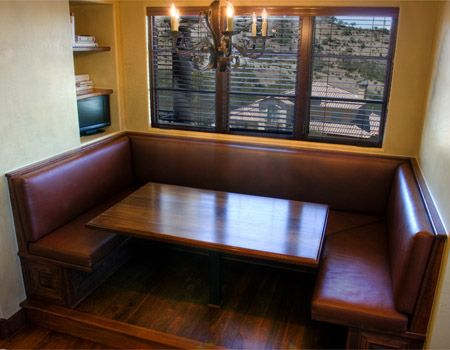 Image Detail For   Modern Contemporary Kitchen Banquette Seating Furniture  Design Ideas