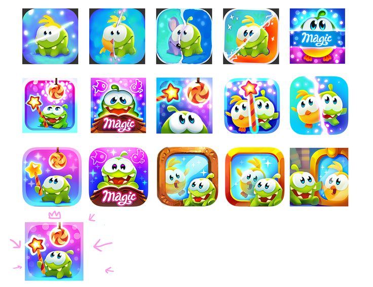 Cut the Rope Magic (app icon) on Behance
