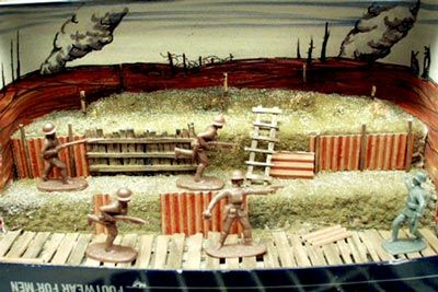 School Project – World War I Trench