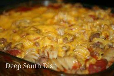 Deep South Dish: Hamburger Hot Dish Casserole