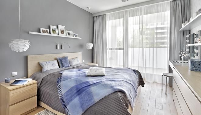 Nowoczesna Szara Sypialnia Sypialnia In 2019 Home Decor